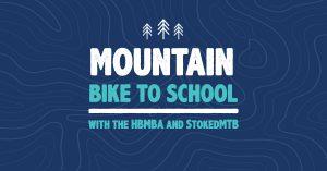 mountain bike to school image